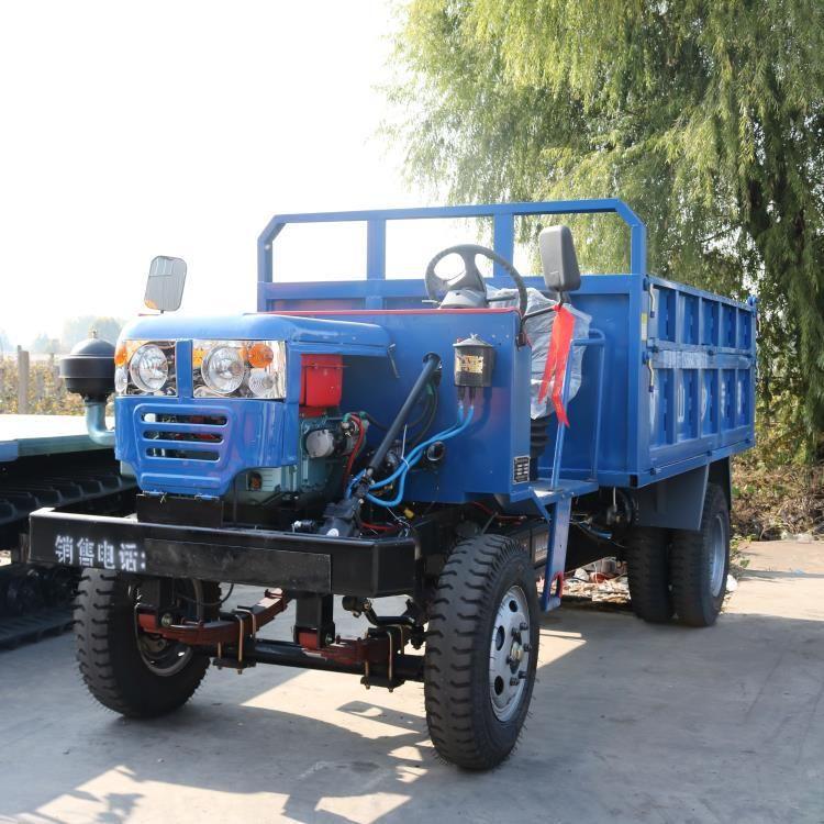 厂家直销 小型轮式运输车 轮式果园山地运输车 轮胎式装卸车辆