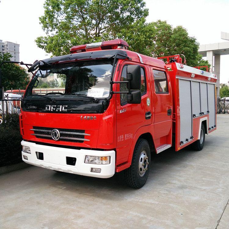 广东多利卡4吨水罐消防车参数 4吨水罐消防车价格 4方水罐消防车