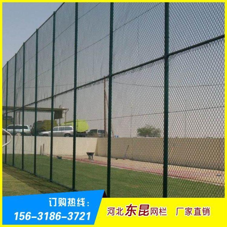 厂家直销球场PVC勾花网 室外体育场球场围栏 护栏网 围网篮球