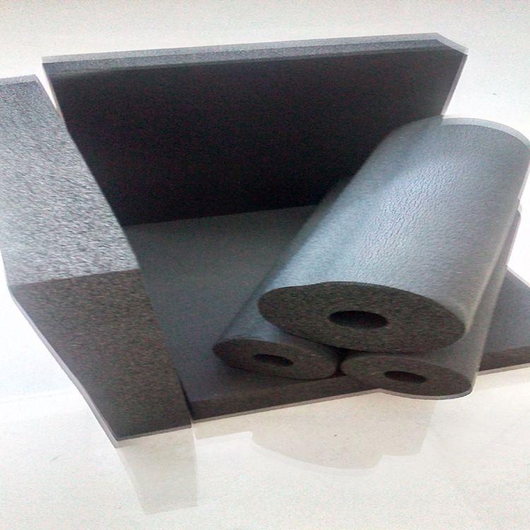 浙江一级福乐斯橡塑板阿乐斯橡塑保温隔热板管道空调风管用橡塑板