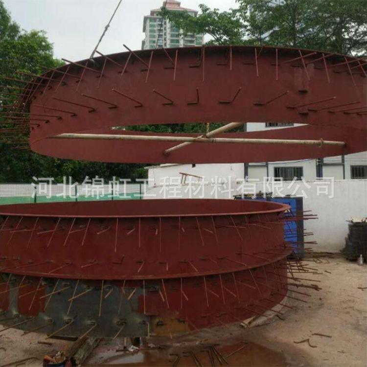 河南郑州地铁洞门预埋钢环大图照片