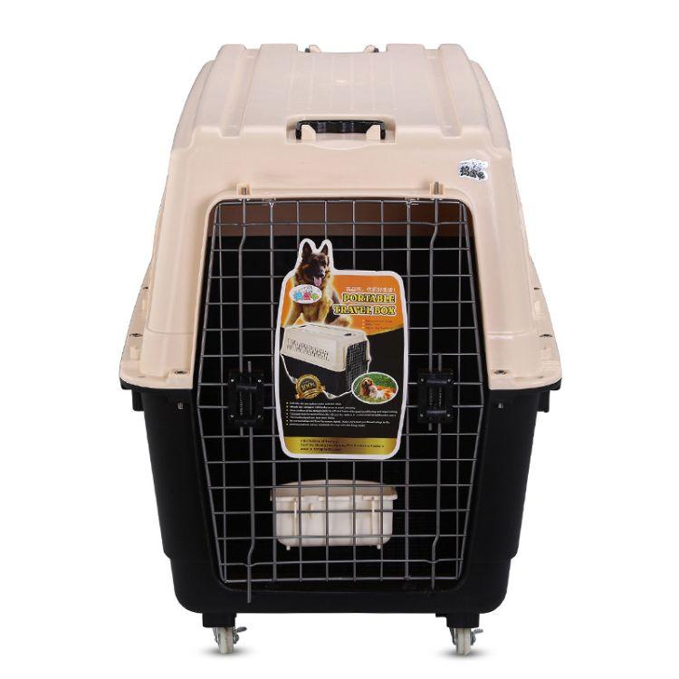 捣蛋鬼宠物猫狗航空箱 泰迪萨摩耶猫咪托运空运小中大型犬航空箱