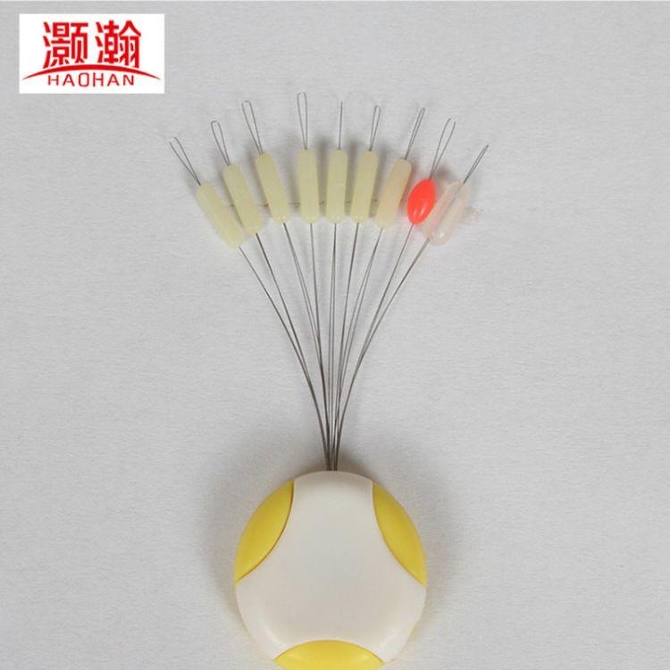灏瀚批发竞技硅胶太空豆7+2垂钓用品渔具配件厂家直销