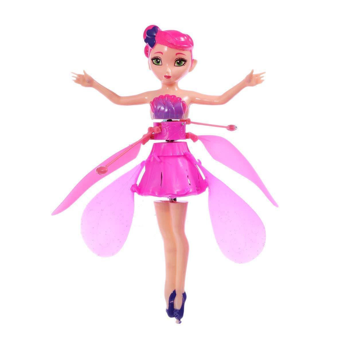 厂家直销感应飞行花仙子 感应小飞仙悬浮耐摔儿童感应飞行器玩具