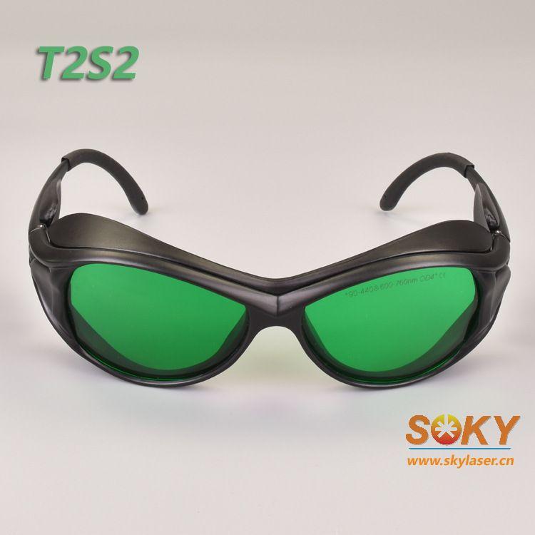 激光防护眼镜 用于氦氖红光,红光半导体激光,671nm激光,红光LED