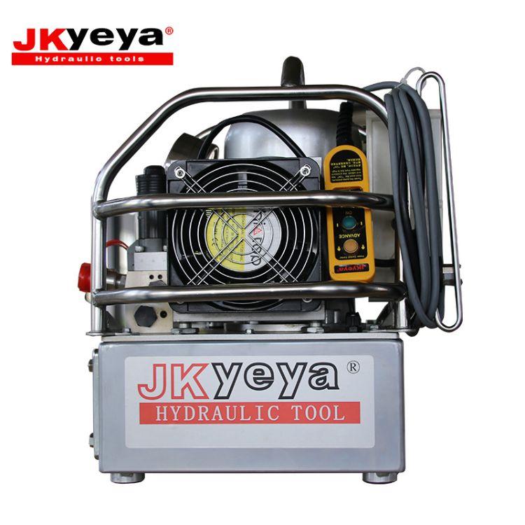全自动液压泵站 三级自动泵生产定制 铝钛合金液压扳手专用泵站