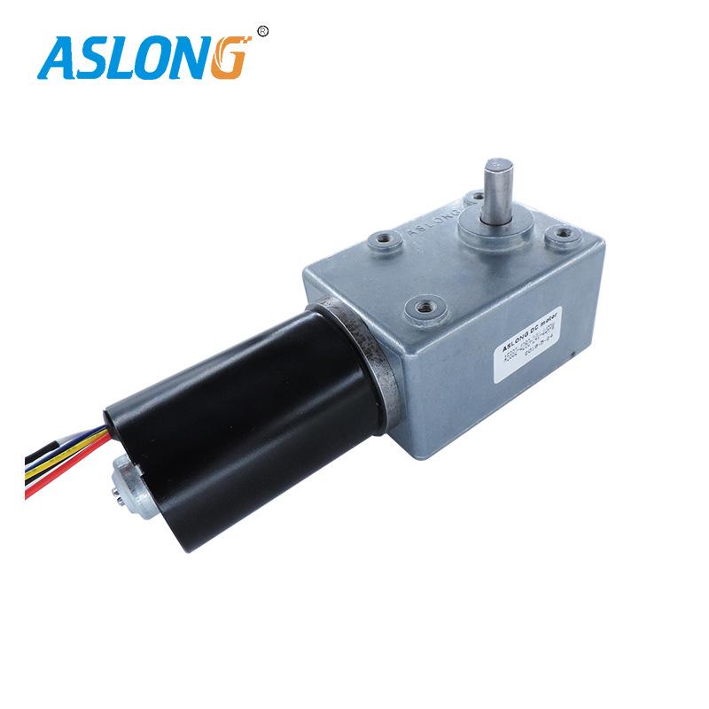厂家直销5882-426024V微型电机直流无刷减速电机蜗轮蜗杆低速马达