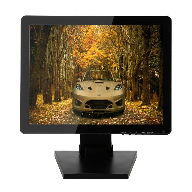 台式19寸触摸屏液晶电脑显示器商用高清可定制LED电容触摸显示屏