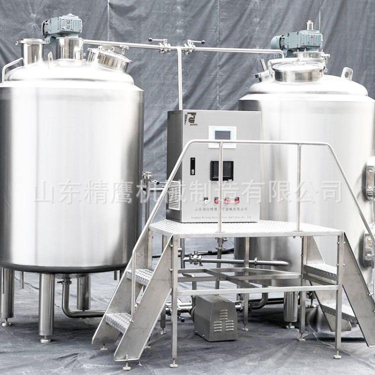 500L 精酿啤酒设备 中大型精酿 啤酒设备 支持定制 物料低消耗