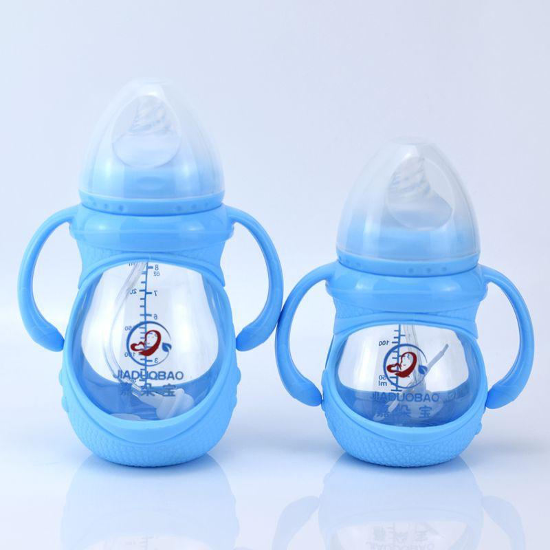 嘉多宝玻璃奶瓶硼硅新生婴幼儿奶瓶宽口径宝宝奶瓶150ml240ml