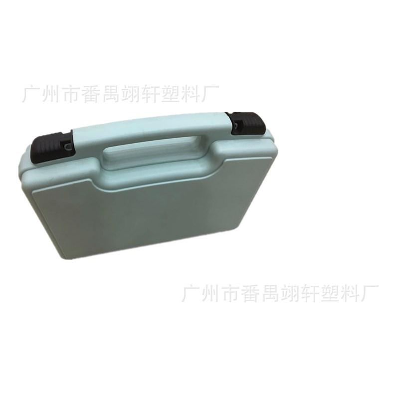 直销五金工具箱 塑料储物箱 多功能塑料箱 环保工具箱 黑色工具箱