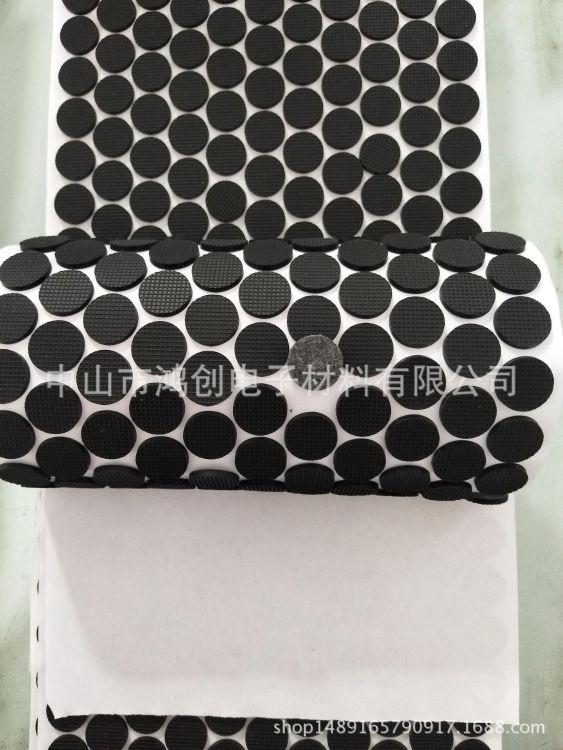 硅胶脚垫透明 自粘灰色硅胶垫圈 单面自粘硅胶垫黑色硅胶脚垫