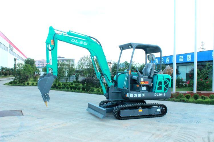 微型挖掘机,小型挖掘机,德力重工DL30-9先导型挖掘机