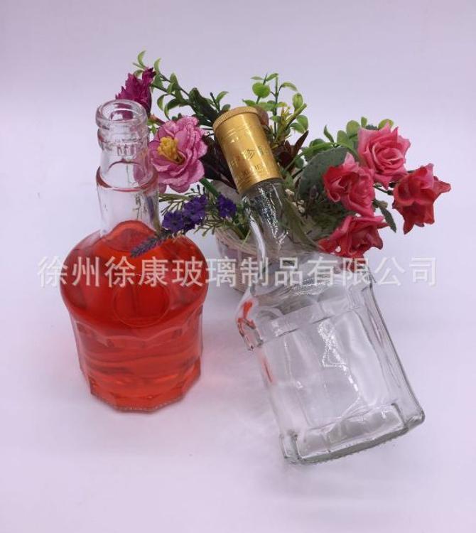 厂家直销玻璃白酒瓶 保健酒瓶 250ml药酒瓶定做 自酿酒瓶批发