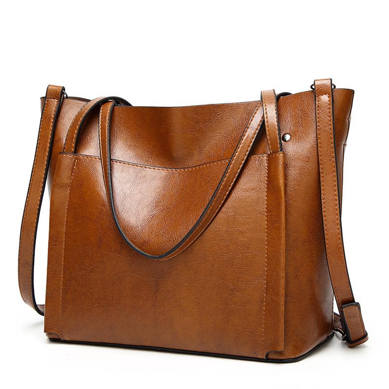 促销18新款女包欧美时尚女士包手提斜挎百搭单肩女包大包