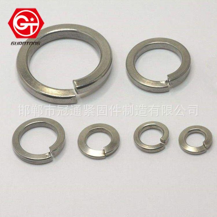 不锈钢垫圈 镀锌弹垫 标准型弹垫圈 不锈钢加大金属加厚垫圈现货供应