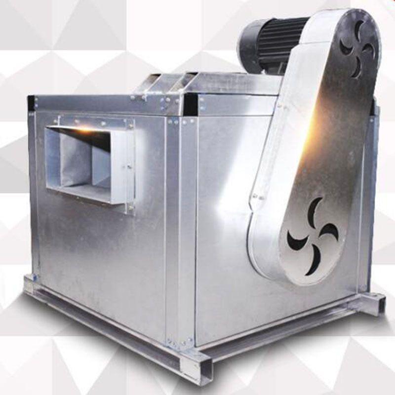 厂家直销定制低噪音离心风机箱消防排烟风机箱HTFC柜式送风风机箱