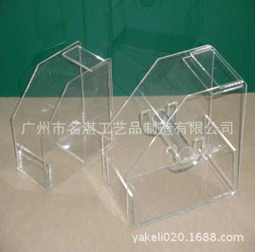 亚克力产品陈列盒 有机玻璃产品陈列盒  美甲用品大纸托盒