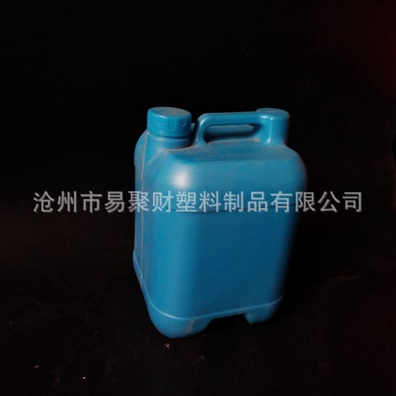 5公斤液体肥料桶 方形平安彩票权威平台液体塑料包装桶 肥料桶
