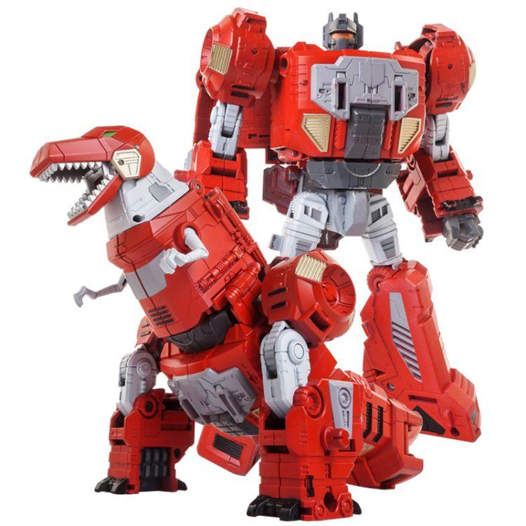 变形玩具金刚黑曼巴机器恐龙六合体修罗王天元6002放大模型玩具