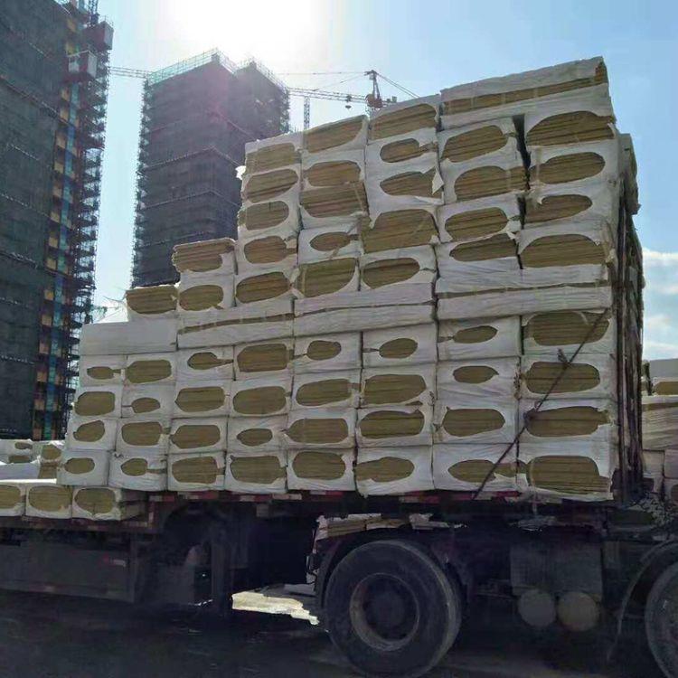 厂家供应  岩棉岩棉板外墙玄武岩岩棉保温板阻燃隔热岩棉板