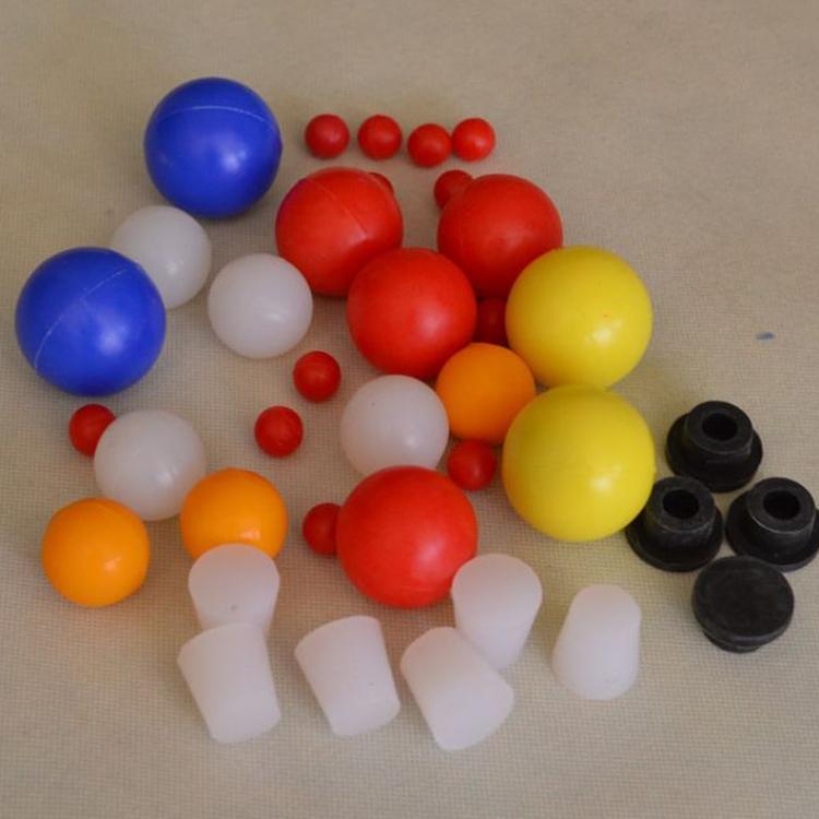 工业品级硅胶球彩色透明实心硅胶密封球透明硅胶球定做橡胶制品厂