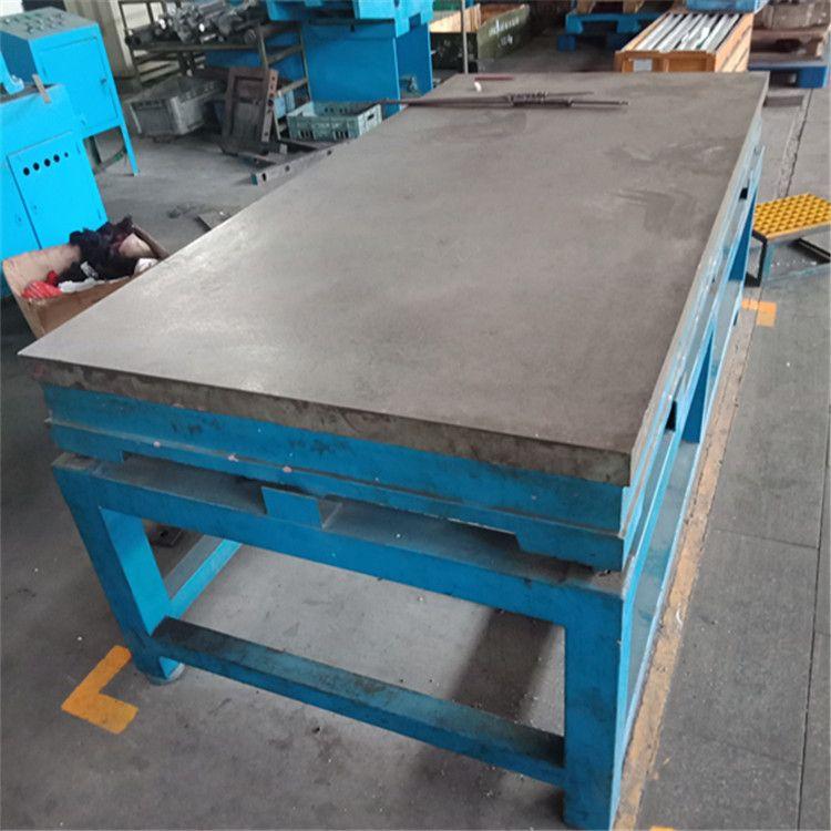 厂家专业生产铸造加工大型订做各种型号铸铁检验焊接划线平板平台