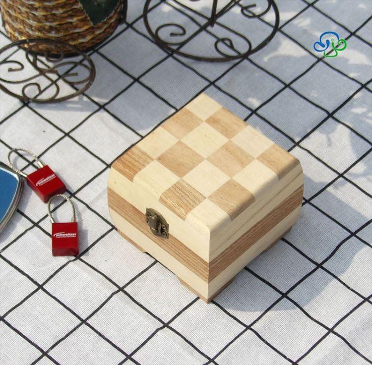 木制收納盒兒童首飾小禮品玩具整理箱多用途包裝盒曹縣廠家可定制