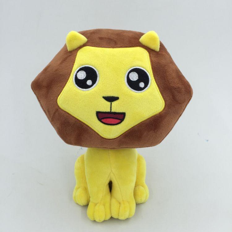 厂家生产毛绒玩具狮子 儿童动漫玩具 卡通公仔玩偶加LOGO生产定制