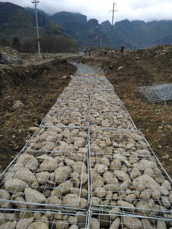 景观石笼网 钢筋石笼网 焊接石笼网 景观墙石笼电焊网