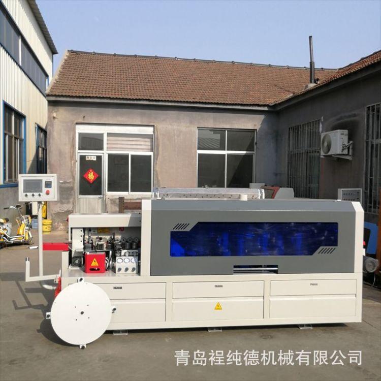 板式生产线极东款全自动双修封边机、橱柜封边机、衣柜封边机