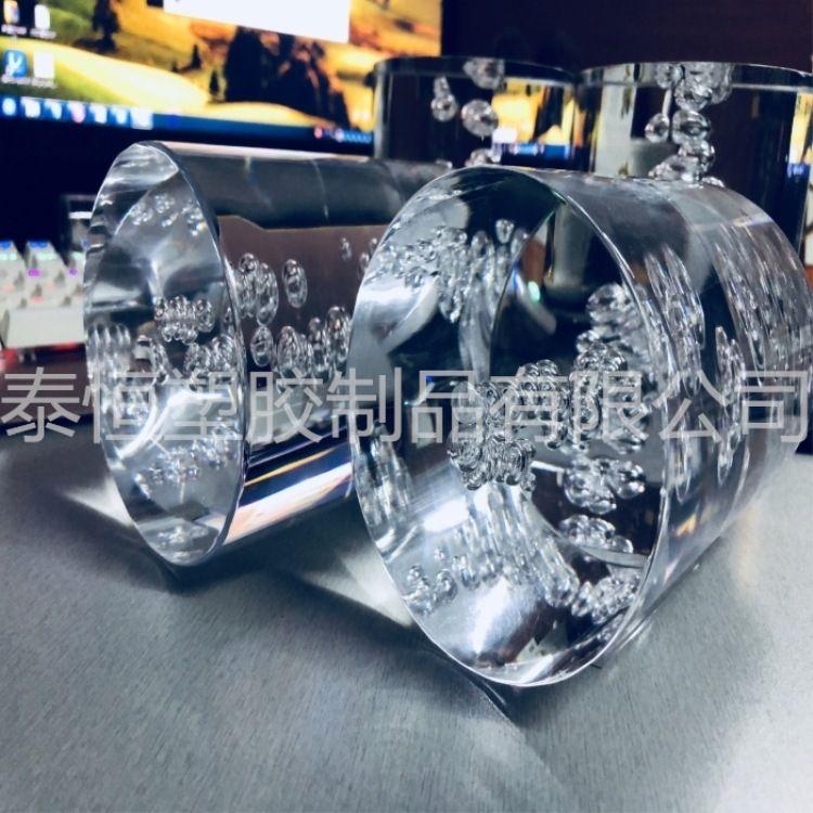 供应有机玻璃棒 异形有机玻璃棒 水晶气泡棒 亚克力棒