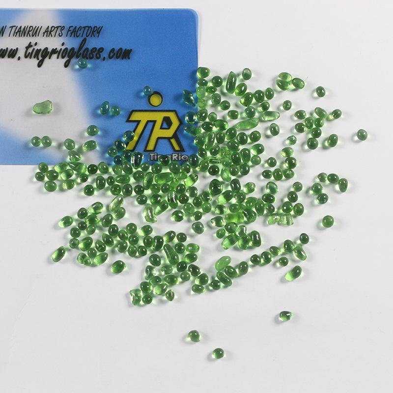 浅绿色玻璃珠 实心玻璃珠厂家供应玻璃工艺品彩色玻璃珠 玻璃微珠