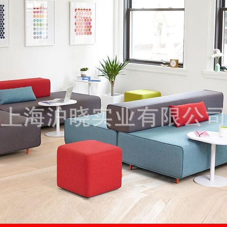 简约办公沙发茶几组合 办公沙发 现代 会客沙发 办公室 简约时尚