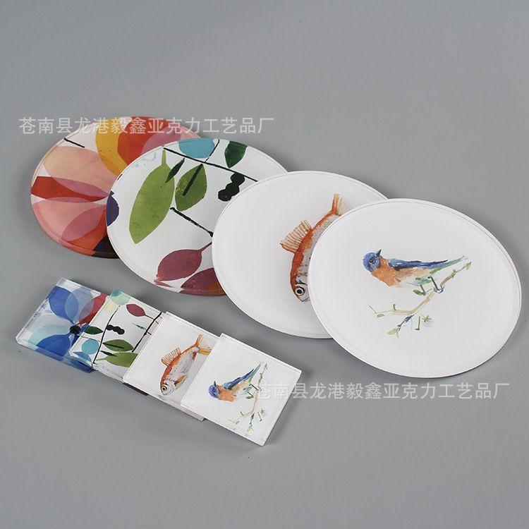 亚克力板材有机玻璃板制品定制可印刷折弯高透明亚克力制品厂家
