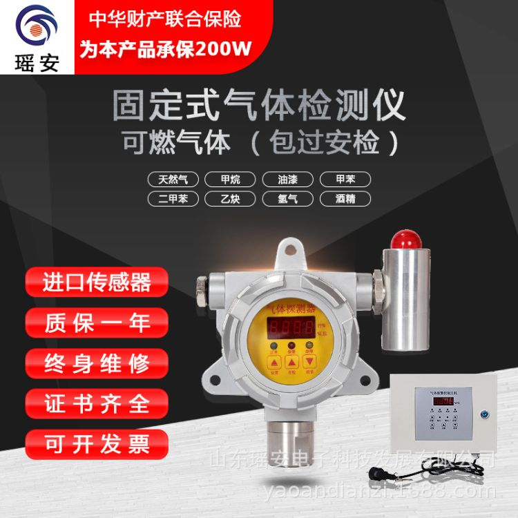 壁挂式氧气浓度检测报警器 氧气检测仪 氧气报警器 VOC检测仪