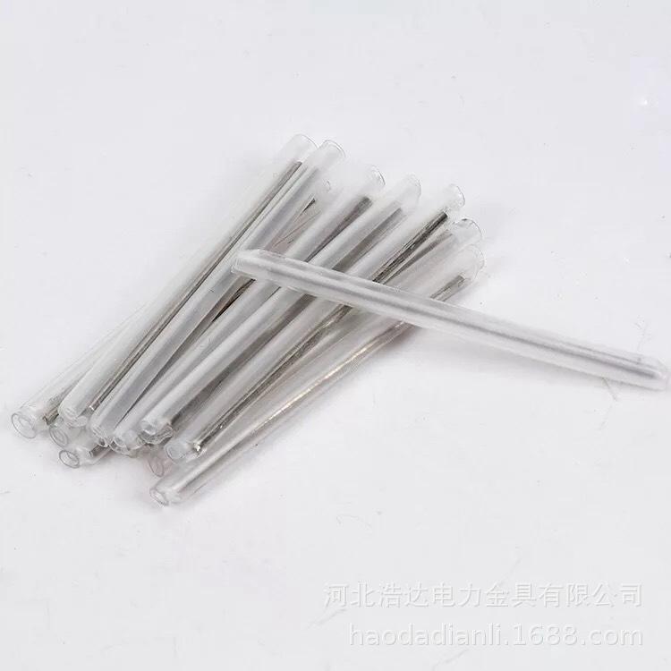 皮线热融管 皮缆保护管单钢针 皮线光纤热熔管