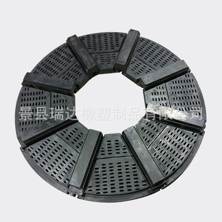 厂家生产  球磨机橡胶衬板 球磨机橡胶衬板橡胶衬板