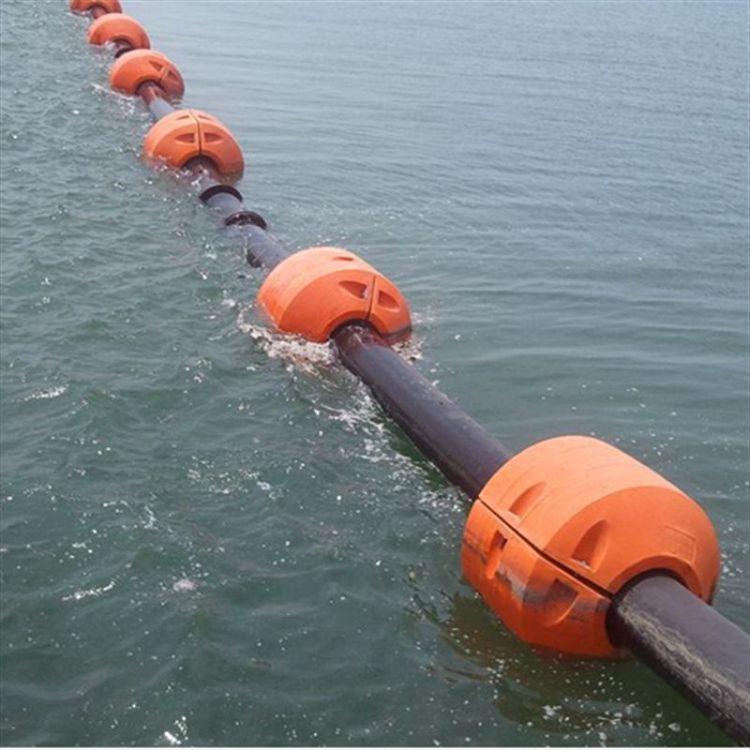 河道排泥管道浮筒 抽沙管浮筒 管道浮体加工定做