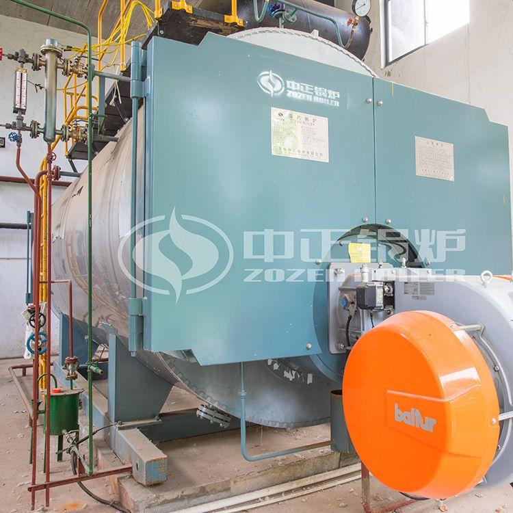 江苏锅炉厂家 2吨WNS4-1.6-Y(Q)燃油燃气蒸汽锅炉 燃气热水锅炉价
