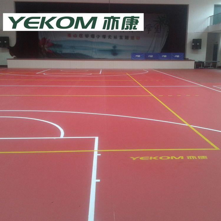 羽毛球场标准尺寸图|羽毛球场专用塑胶地板|羽毛球场pvc地板卷材