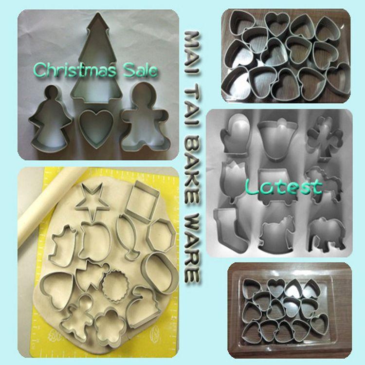 麦太烘焙模具批发.铝制阳极饼干摸具 diy模具 铝合金蛋糕模具