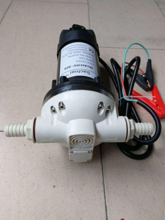厂家直销车用尿素泵1224V电动隔膜泵耐腐蚀增压尿素泵电机水泵批