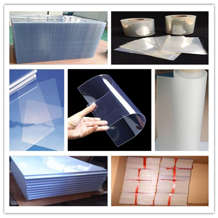 黑色白色透明PET聚酯薄膜 耐高温PET卷材PET片 pvc硬塑料胶片