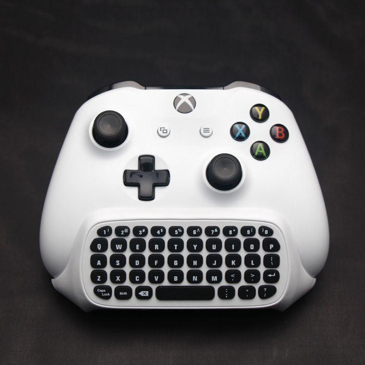 DOBE XBOXONE Slim键盘2.4G无线键盘XBOXONE手柄键盘手柄聊天键盘