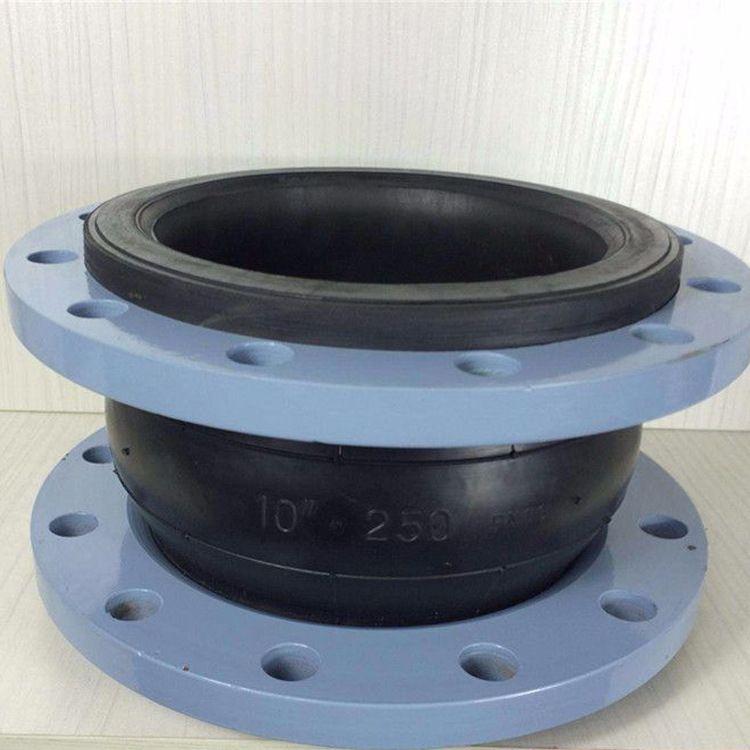 厂家直销 供应可曲挠橡胶软接头 软连接 伸缩节法兰式橡胶软接头