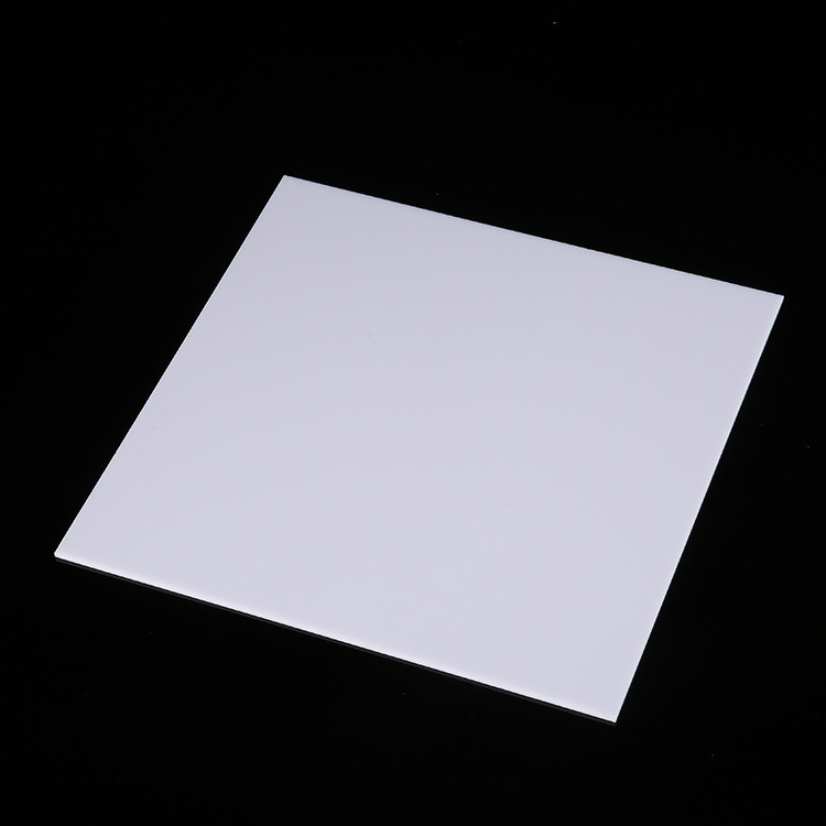 乳白亚克力板乳白磨砂亚克力板 乳白扩散板灯箱板生产加工定制