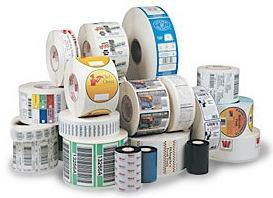 卷装不干胶印刷四色-六色商标印刷-复光油/复光/哑膜印刷瓶贴