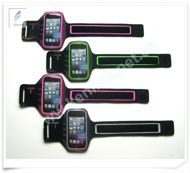 一周特价-品牌代工单面莱卡iphone5 iphon5s臂带