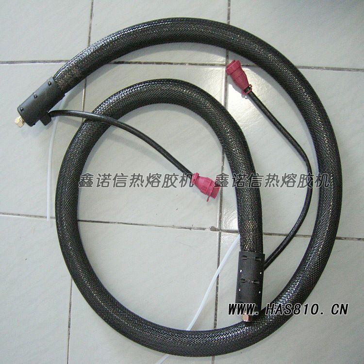 厂家直销热熔胶输胶管 保温输胶热熔胶管 定制配套进口热熔胶机